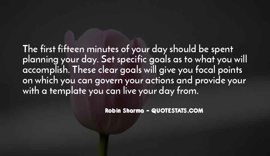 Quotes About Planning And Goals #571443