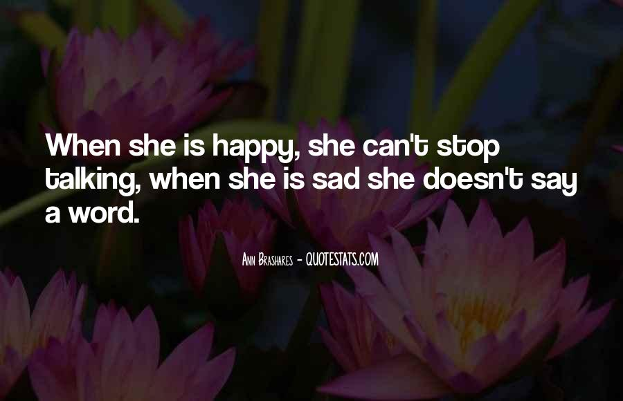 Quotes About Life When Sad #779652