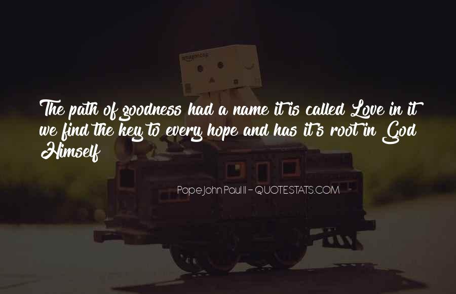 Quotes About Roots Of Love #1045583
