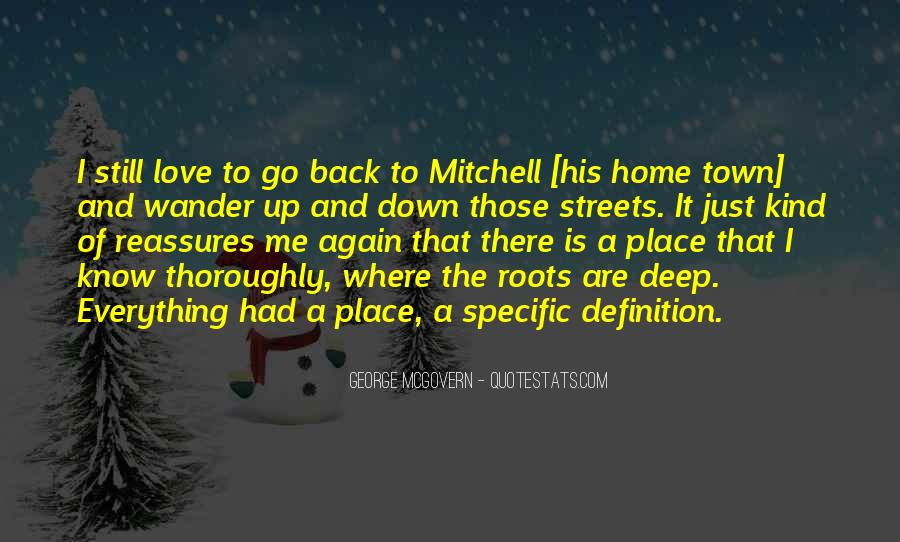 Quotes About Roots Of Love #1330040