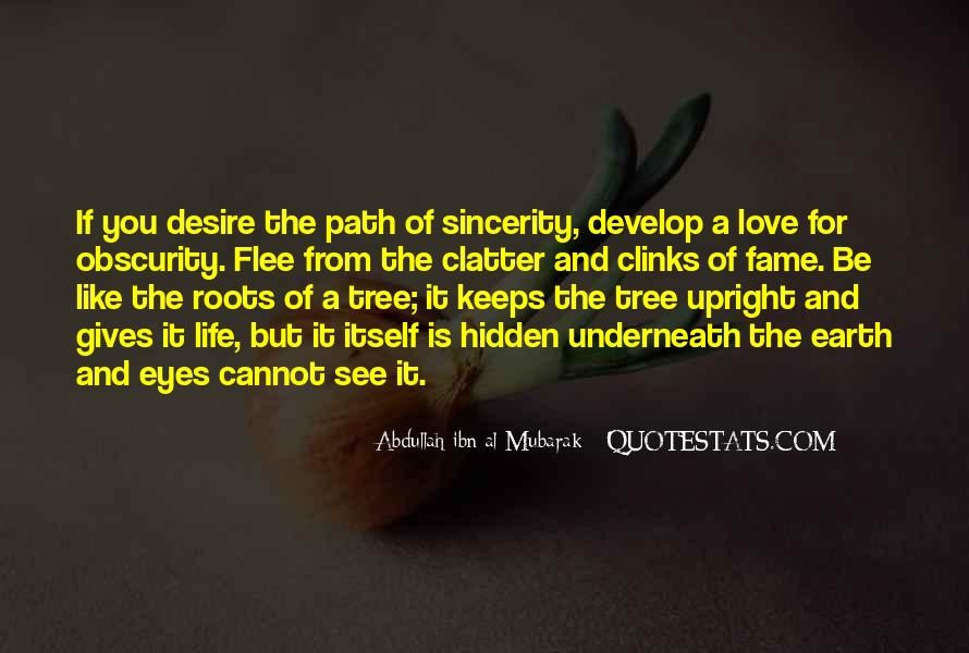 Quotes About Roots Of Love #1435232