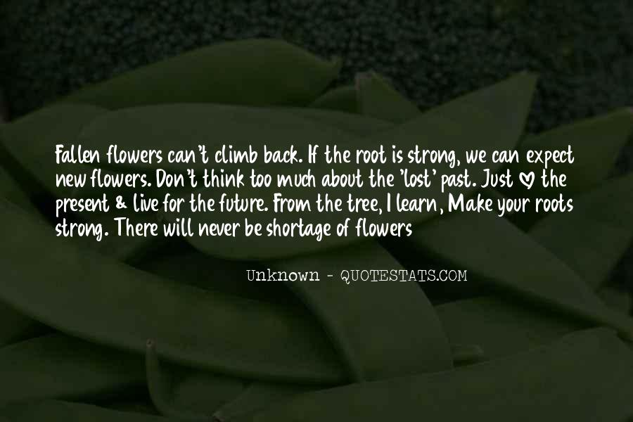 Quotes About Roots Of Love #1677341