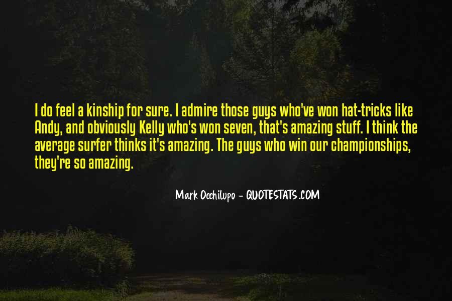 Quotes About Hat Tricks #1420174