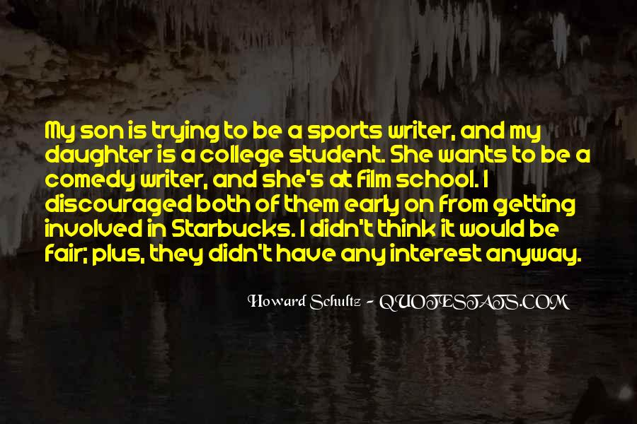 Quotes About College Sports #1096779