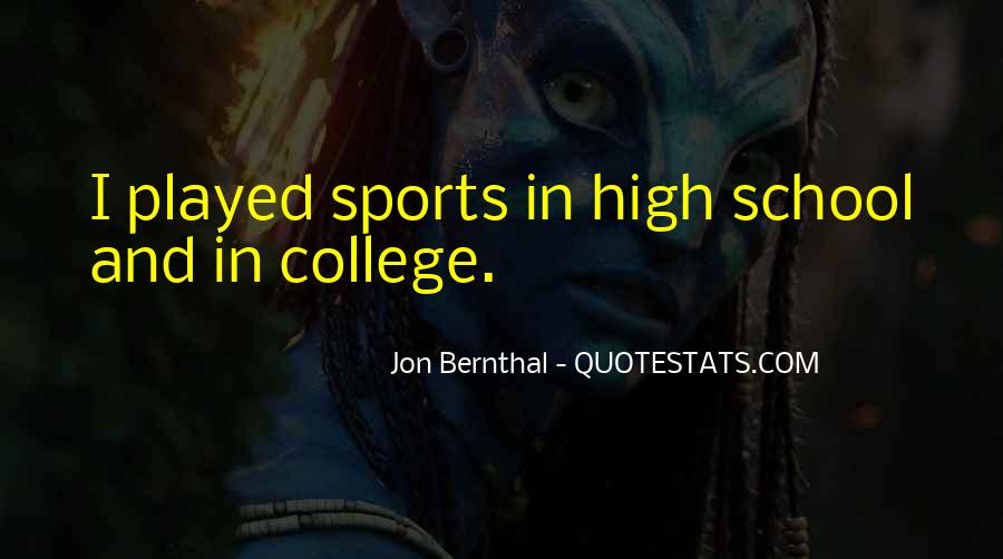 Quotes About College Sports #156809