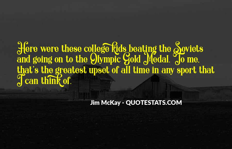 Quotes About College Sports #1728479