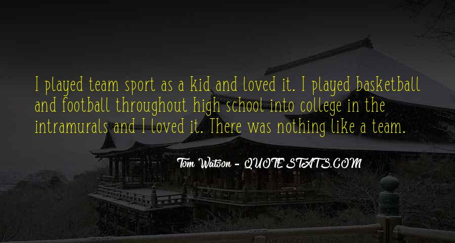 Quotes About College Sports #181527