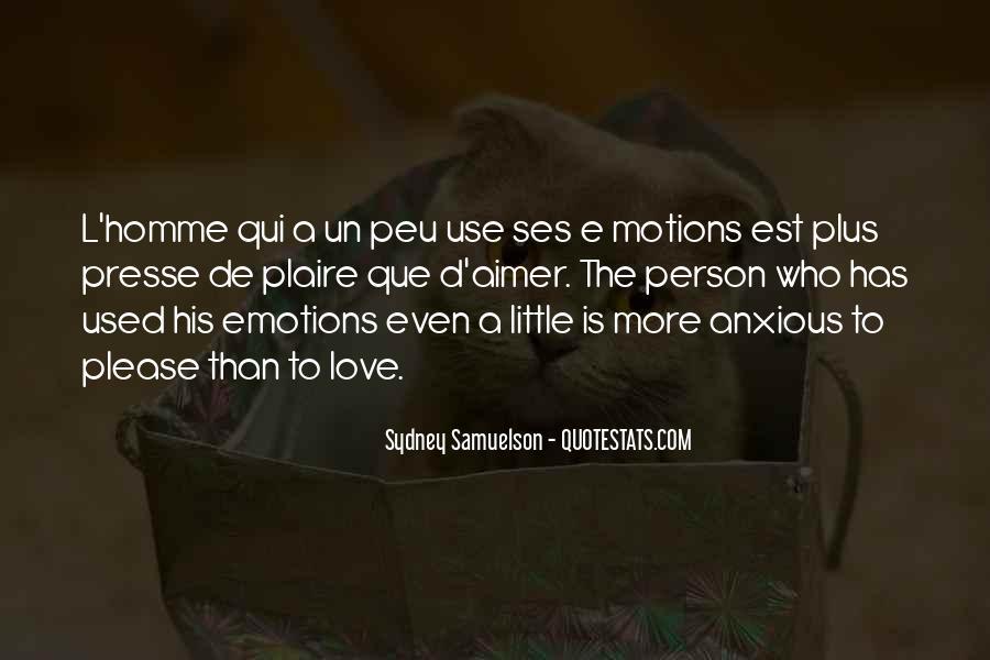 Quotes About Plaire #124915