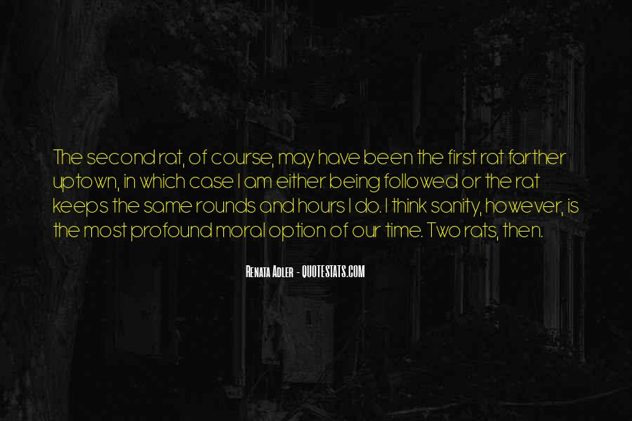 Quotes About Being A Second Option #987059