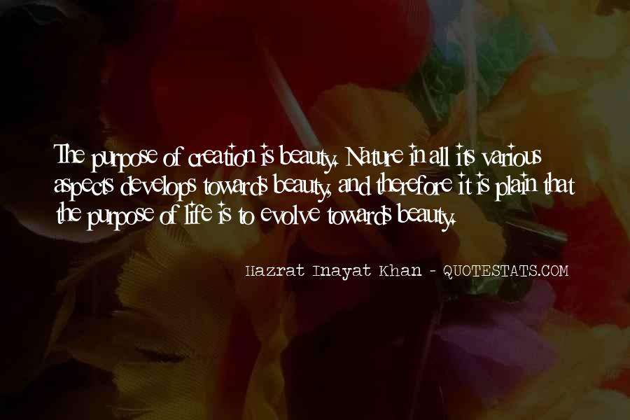 Quotes About Nature's Beauty And Life #1153920