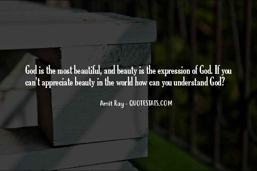 Quotes About Nature's Beauty And Life #1519412