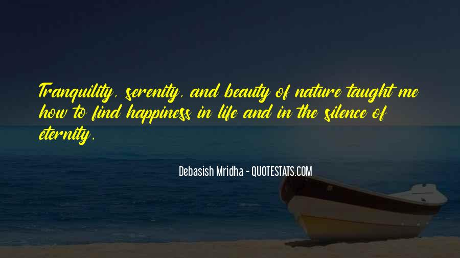 Quotes About Nature's Beauty And Life #1580751