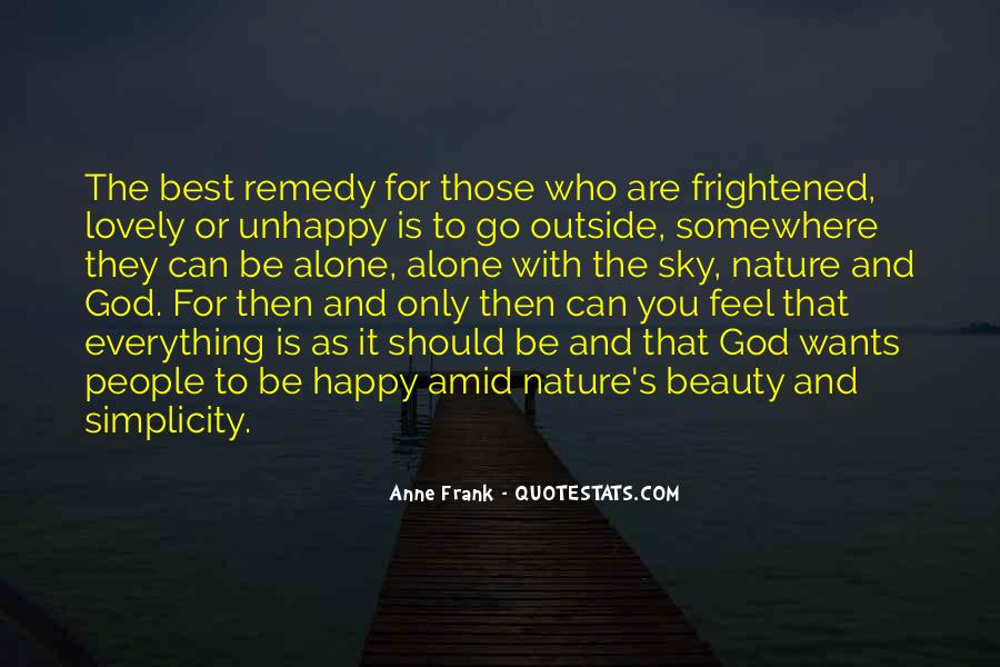 Quotes About Nature's Beauty And Life #160475