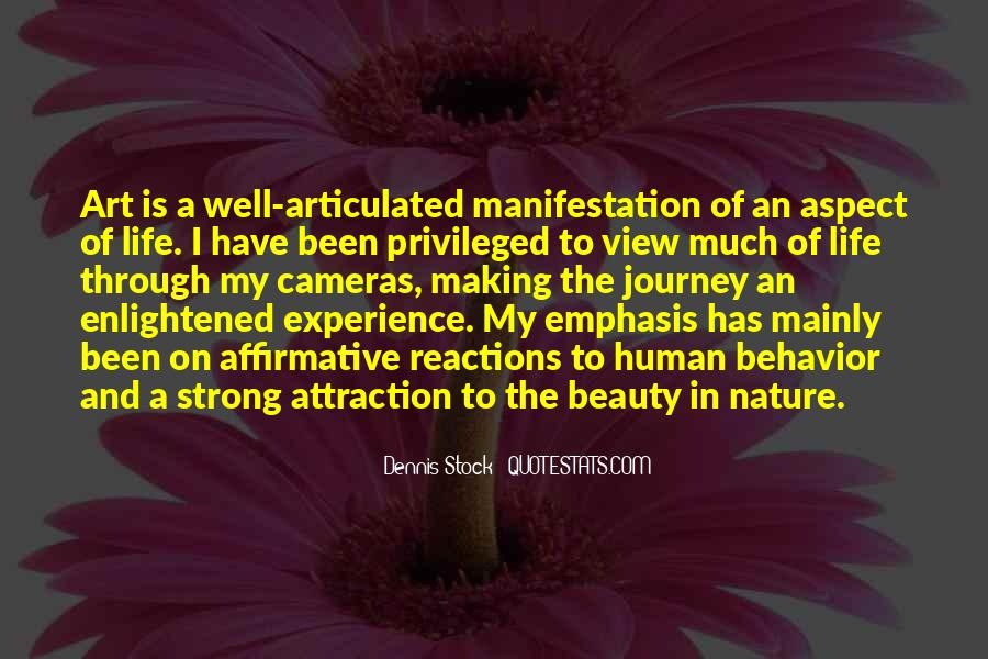 Quotes About Nature's Beauty And Life #1649319