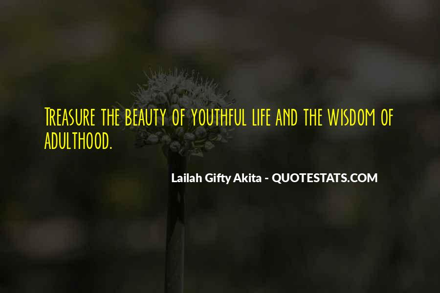 Quotes About Nature's Beauty And Life #1730667