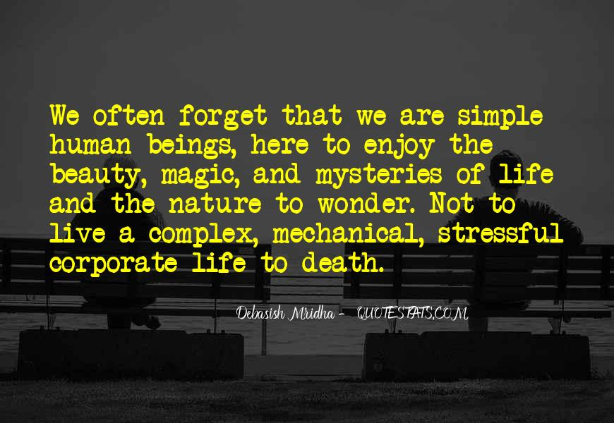 Quotes About Nature's Beauty And Life #644537
