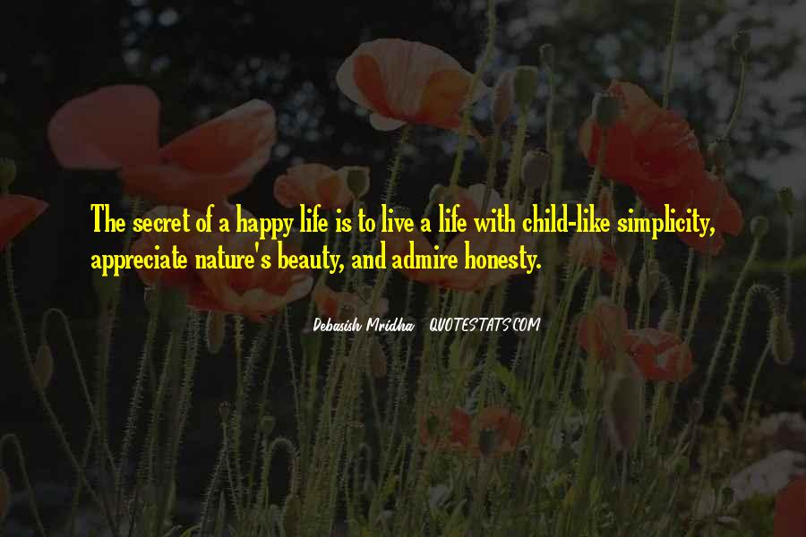 Quotes About Nature's Beauty And Life #980905