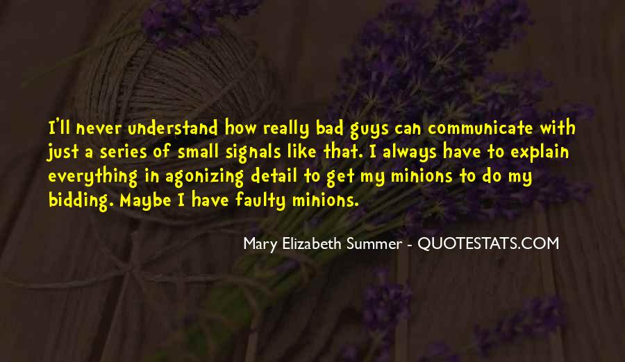 Quotes About Minions #506707