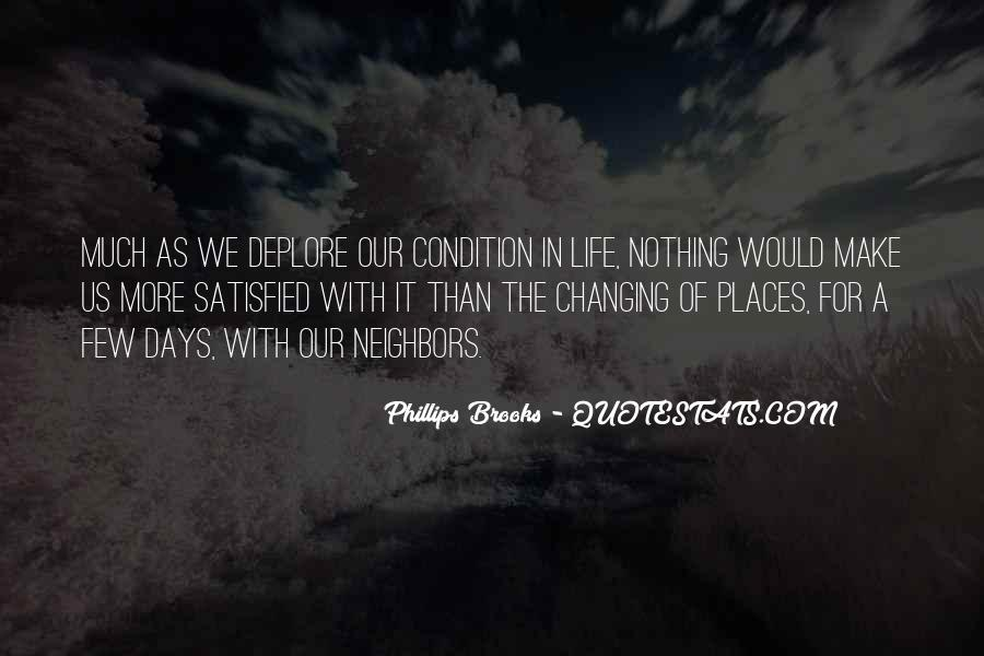 Quotes About Places Changing You #1665144
