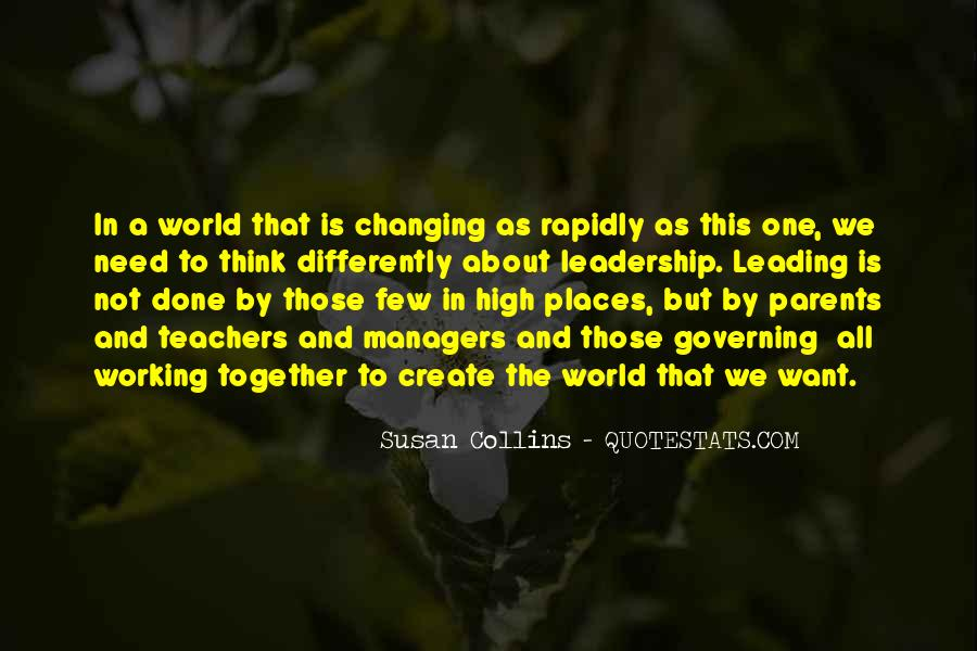 Quotes About Places Changing You #681991
