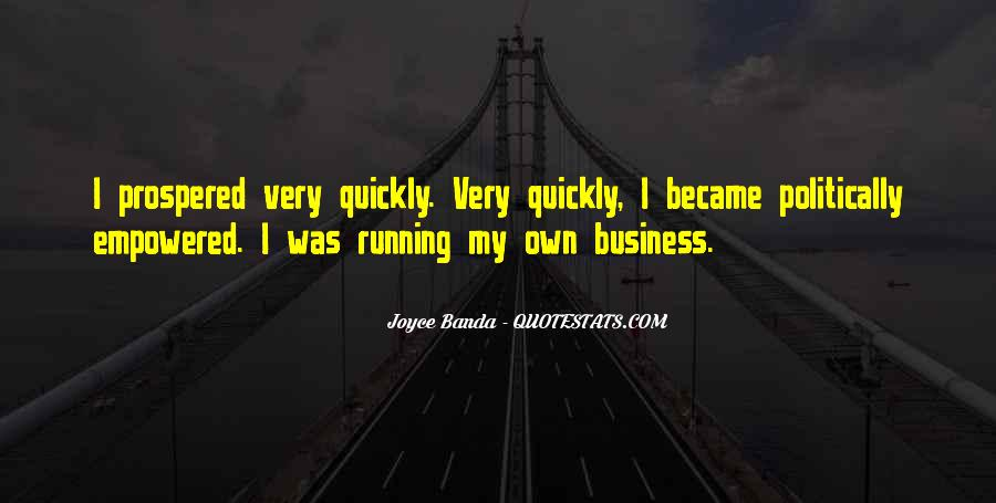 Quotes About Running Your Own Business #12363