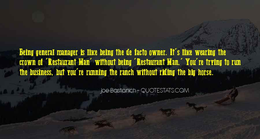 Quotes About Running Your Own Business #143527