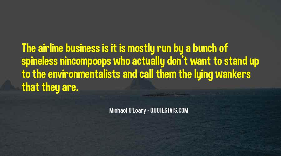 Quotes About Running Your Own Business #14357