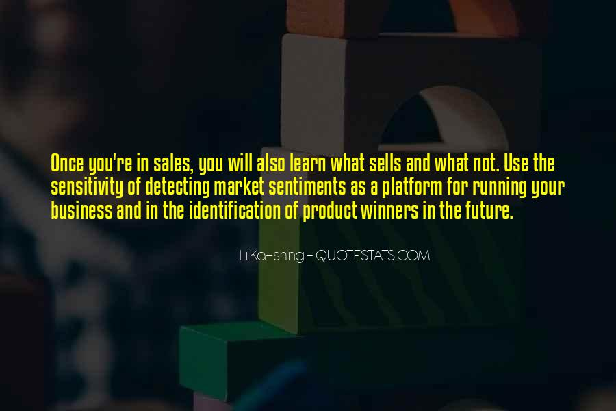 Quotes About Running Your Own Business #160751
