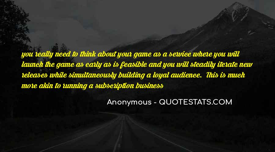 Quotes About Running Your Own Business #175491