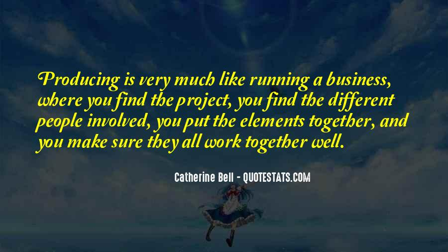 Quotes About Running Your Own Business #270499