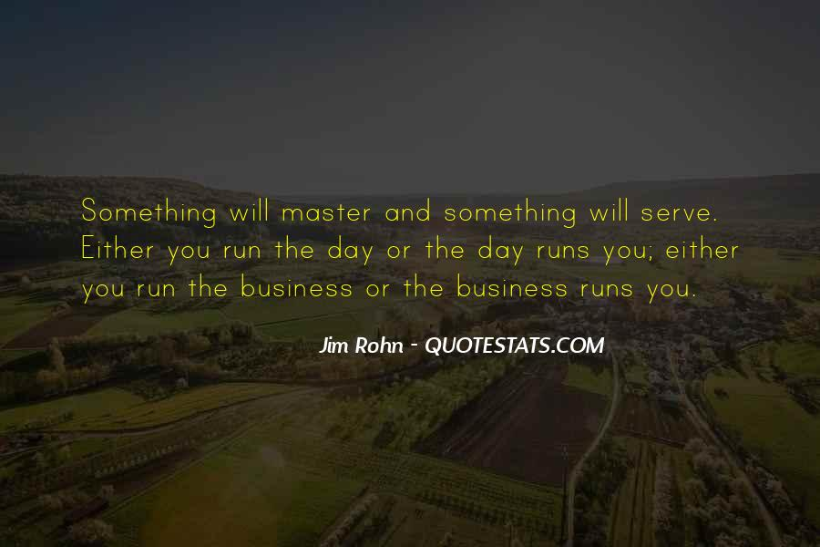 Quotes About Running Your Own Business #2979