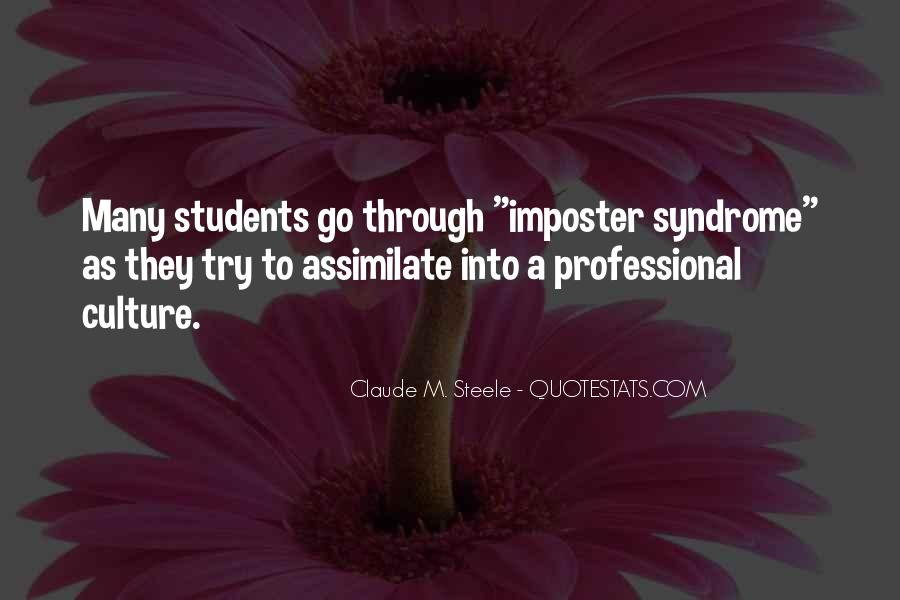 Quotes About Imposter Syndrome #1369175