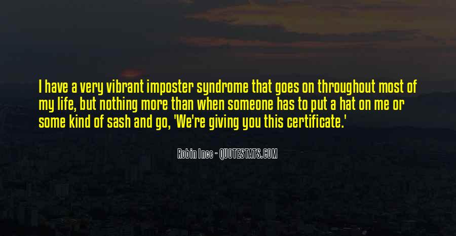 Quotes About Imposter Syndrome #471130