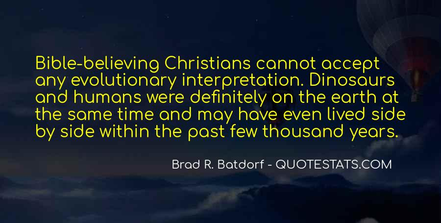 Quotes About Interpretation Of The Bible #1036325