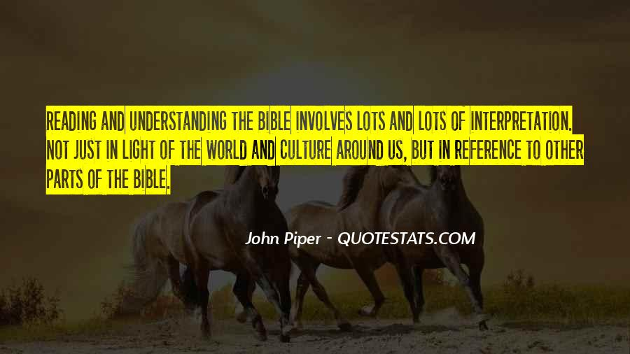 Quotes About Interpretation Of The Bible #648971