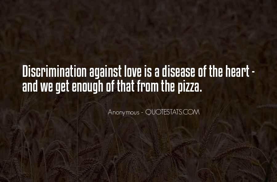 Quotes About Pizza And Love #1090088