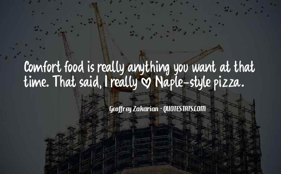 Quotes About Pizza And Love #155752