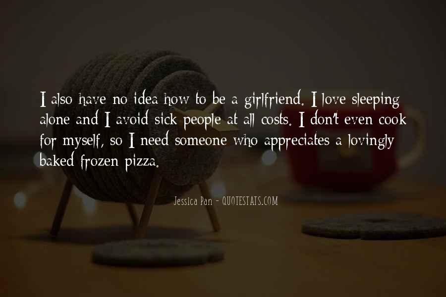 Quotes About Pizza And Love #235944