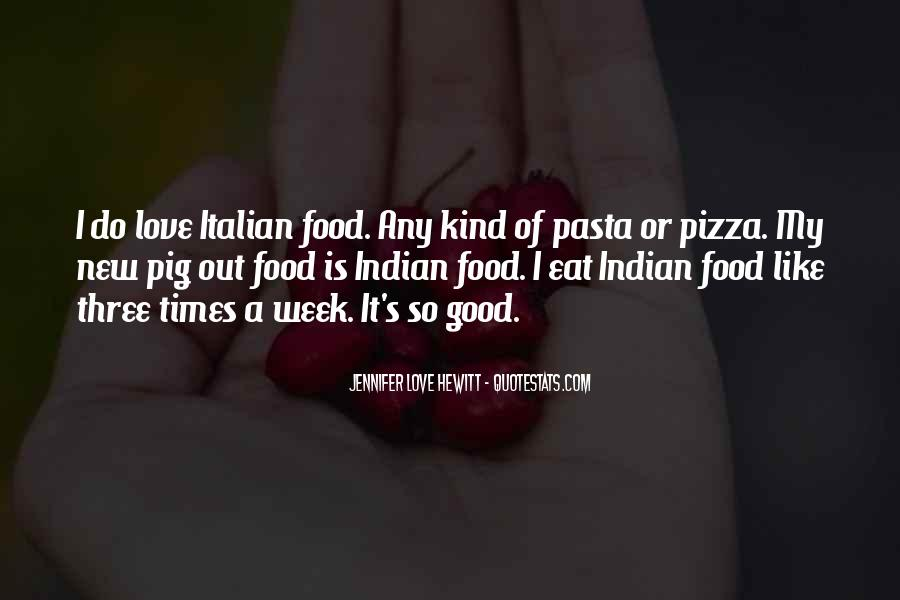 Quotes About Pizza And Love #316768