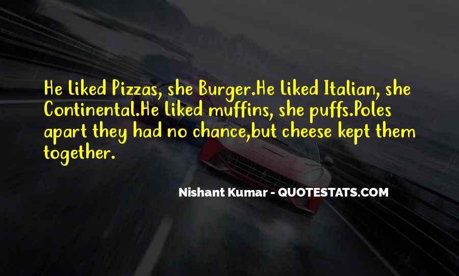 Quotes About Pizza And Love #409875