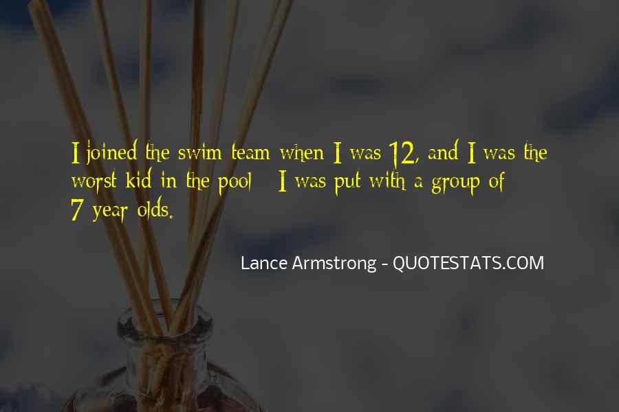 Quotes About Swim Team #1268198
