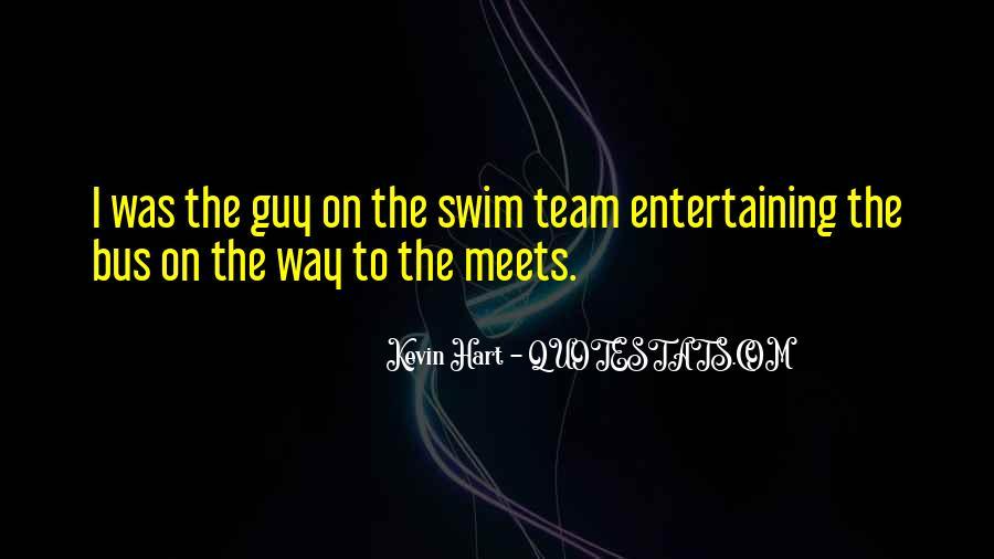 Quotes About Swim Team #1282238