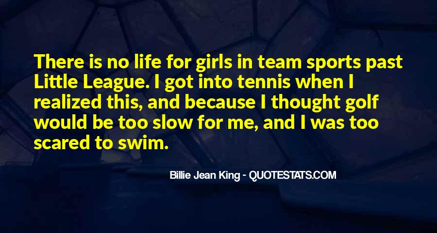 Quotes About Swim Team #1384324