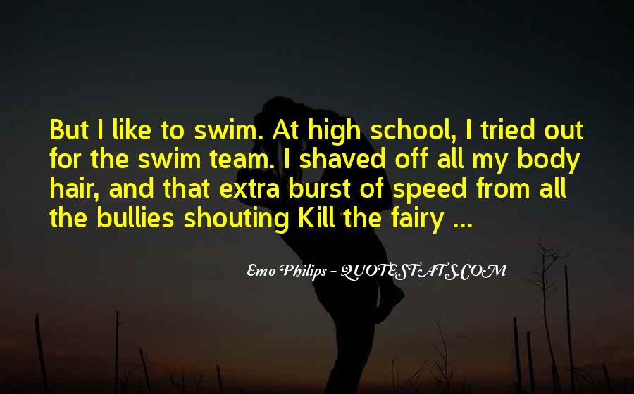Quotes About Swim Team #1533834