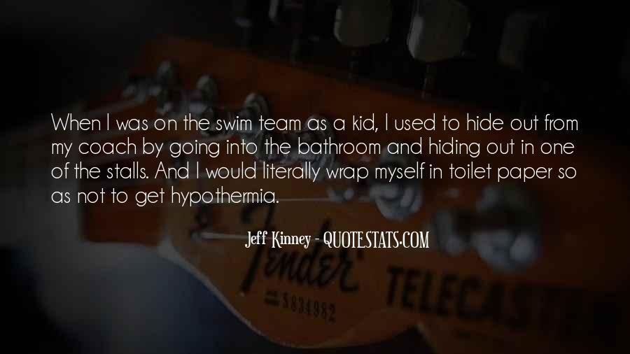 Quotes About Swim Team #1850359