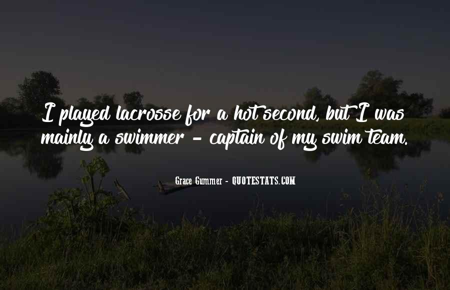 Quotes About Swim Team #762125