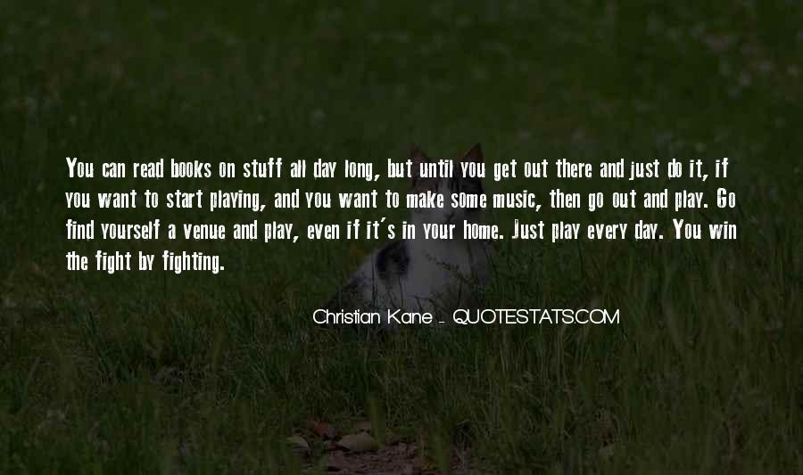 Quotes About Venue #291325