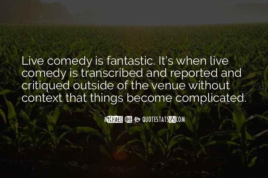 Quotes About Venue #368199