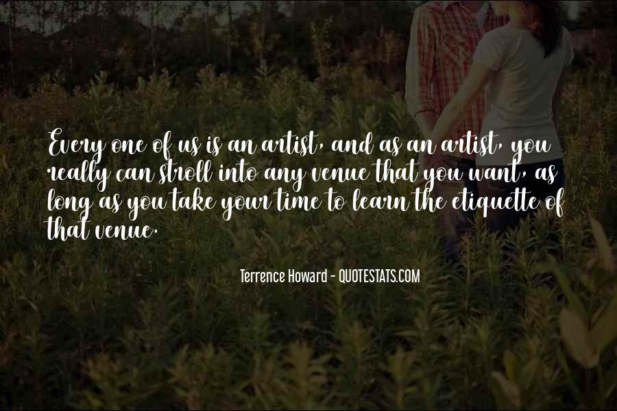 Quotes About Venue #374495