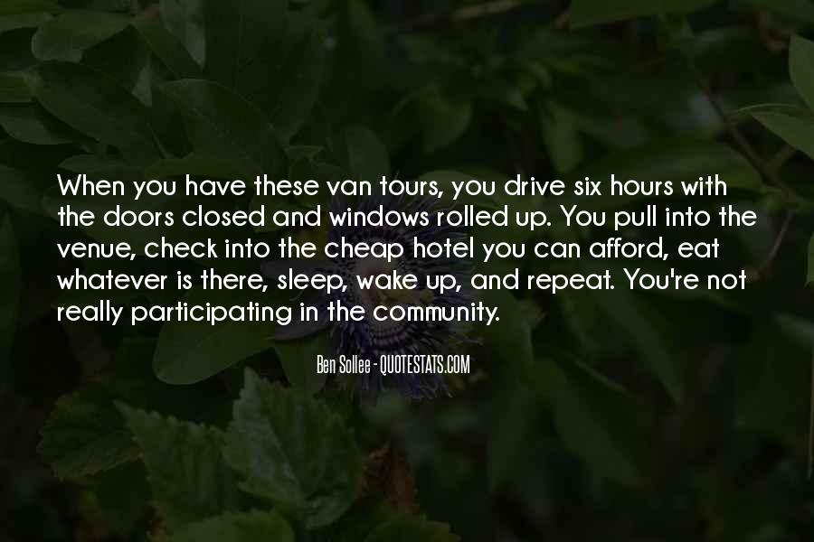 Quotes About Venue #409055